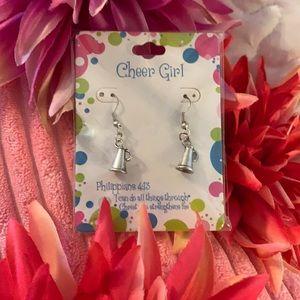 ❣️5/$20 NWT! Girl's Cheer Pierced Earrings
